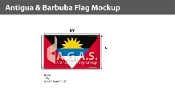 Antigua & Barbuda Flags 6x10 foot