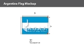 Argentina Flags 2x3 foot (no seal)
