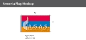 Armenia Flags 3x5 foot