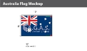 Australia Flags 8x12 foot