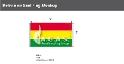 Bolivia Flags 3x5 foot (no seal)