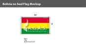 Bolivia Flags 6x10 foot (no seal)