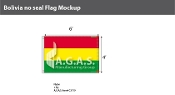 Bolivia Flags 8x12 foot (no seal)