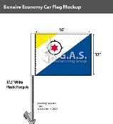 Bonaire Car Flags 12x16 inch Economy