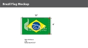 Brazil Flags 6x10 foot