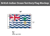 British Indian Ocean Territories Flags 12x18 inch