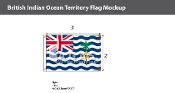 British Indian Ocean Territories Flags 2x3 foot
