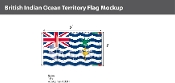 British Indian Ocean Territories Flags 3x5 foot