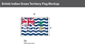 British Indian Ocean Territories Flags 4x6 foot