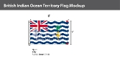 British Indian Ocean Territories Flags 5x8 foot
