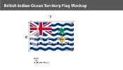 British Indian Ocean Territories Flags 8x12 foot