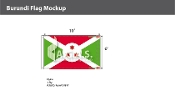 Burundi Flags 6x10 foot