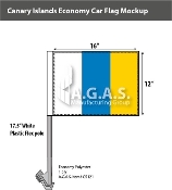 Canary Islands Car Flags 12x16 inch Economy