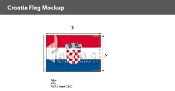 Croatia Flags 2x3 foot