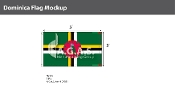 Dominica Flags 3x5 foot
