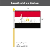 Egypt Stick Flags 12x18 inch