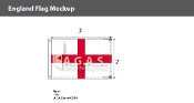 England Flags 2x3 foot