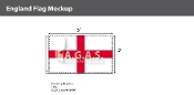 England Flags 3x5 foot