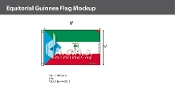 Equatorial Guinea Flags 5x8 foot