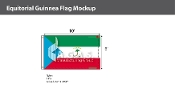 Equatorial Guinea Flags 6x10 foot