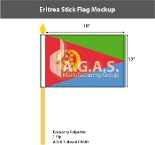 Eritrea Stick Flags 12x18 inch