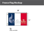France Flags 12x18 inch