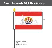 French Polynesia Flags 4x6 foot