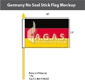 Germany Stick Flags 12x18 inch (no seal)