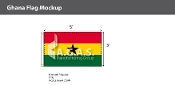 Ghana Flags 3x5 foot