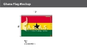 Ghana Flags 8x12 foot