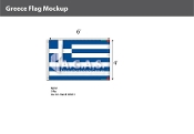 Greece Flags 4x6 foot