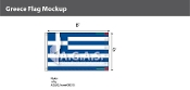 Greece Flags 5x8 foot