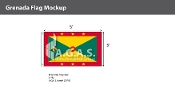 Grenada Flags 3x5 foot