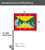 Grenada Car Flags 12x16 inch Economy