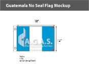 Guatemala Flags 12x18 inch (no seal)