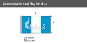 Guatemala Flags 3x5 foot (no seal)