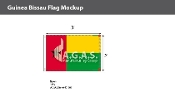 Guinea Bissau Flags 2x3 foot