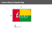 Guinea Bissau Flags 8x12 foot