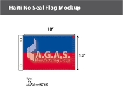 Haiti Flags 12x18 inch (no seal)