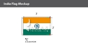 India Flags 2x3 foot