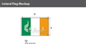 Ireland Flags 4x6 foot