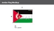 Jordan Flags 8x12 foot
