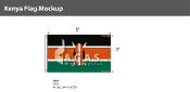 Kenya Flags 3x5 foot