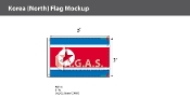 Korea North Flags 2x3 foot