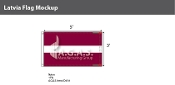 Latvia Flags 3x5 foot
