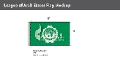 League of Arab States Flags 3x5 foot