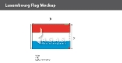 Luxembourg Flags 2x3 foot