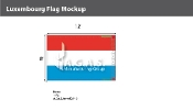 Luxembourg Flags 8x12 foot