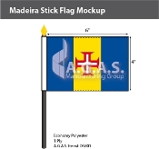 Madeira Stick Flags 4x6 inch