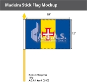 Madeira Stick Flags 12x18 inch